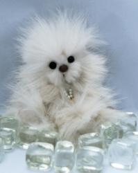An URSA Teddy Bear Winner at Beacon's Glow Collectibles