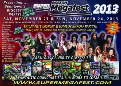 New England Super Megafest Celebrity and Pop Culture Collectables Show