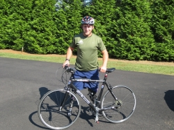 Paralympian Embarks Monday on Cross-Country Cycling Journey