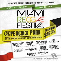 Miami Reggae Festival Expresses Our Hopes and Dreams of a World in Which What We Have in Common is Far Greater Than That Which Divides Us