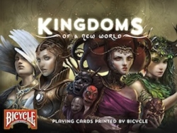 Kickstarter Campaign: Kingdoms of a New World Bicycle Playing Cards Printed by USPCC
