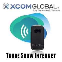 XCom Global Now Offering Special Trade Show Internet Packages