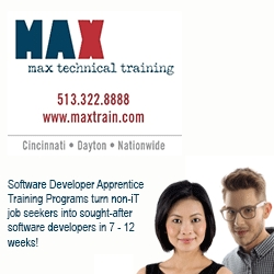 MAX Technical Training is a Finalist for Best New Product / Service of the Year in the Cincinnati USA Regional Chamber's 2013 WE Celebrate Awards