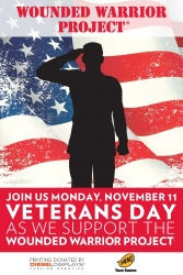 Taco Bueno® to Support the Wounded Warrior Project® in Honor of Veterans Day