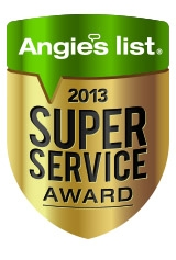 Advanced Film Solutions Window Tinting, Tampa Bay, Orlando Earns Super Service Award from Angie's List for 2013