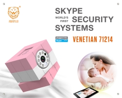 Amaryllo Unveils iBabi HD, World's First HD Skype Baby Monitor with Wireless Motion-Control Technologies at CES 2014