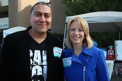 2014 California Gubernatorial Candidate Dr. Robert Ornelas and Fresno Mayor Ashley Swearengin Support Convoy of Hope