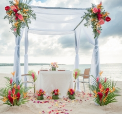 Bianca Weddings Collaborated with Exhibitors from the Jamaica Bridal Expo to Host a Destination Wedding Photo Shoot in Negril, Jamaica