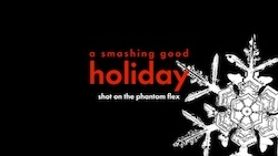 MNS1974 Creates Some Slow Motion Christmas Chaos with Holiday Staples and a High-Speed Phantom Flex Camera