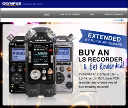 Olympus Extends Successful Concert Ticket and Photo Shoot Promotion with TRCo Marketing