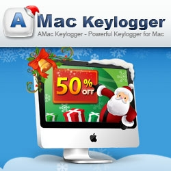Amac Software Announces New Year 50% Discount Offer for Amac Keylogger for Mac OS X