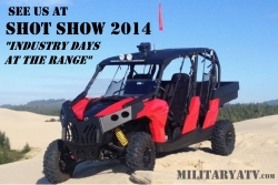 MilitaryAtv.com to Provide Support for Shot Show 2014