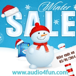 Audio4fun Celebrates Christmas and New Years Day with a Huge Sale and a Surprise Gift