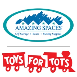 Amazing Spaces® Storage Centers Helps Bring Joy to Houston Children in Need for the Fifth Year, Partnering with the Marine Toys for Tots Foundation