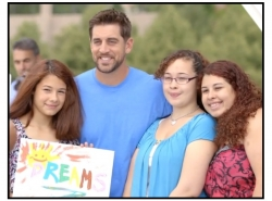 Aaron Rodgers Surprises Sisters at the Milwaukee Art Museum in Season Two of itsAaron.com