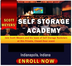 The Self Storage Academy Announces Its Spring Dates of March 6-8 in Indianapolis