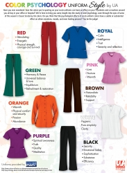 Color Psychology Uniform Style Guide by Uniform Advantage