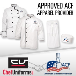 ChefUniforms.com Partners with American Culinary Foundation (ACF)