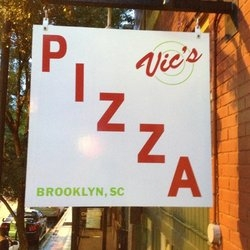 Vic's Pizza in Downtown Greenville, SC is Ranked #1 by Prestigious Town Magazine