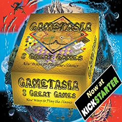 Gametasia: Eight Tabletop Games in One Box,