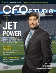 CFO as Strategist: Brian Friedman Honored at CFO Studio Reception
