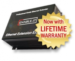 ISC West News: Ethernet Extension Experts Now Offers the Premier Lifetime Warranty for Ethernet Extenders