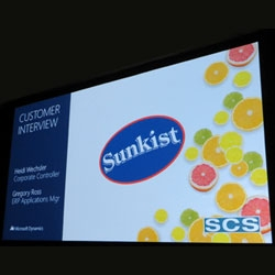 Sunkist Growers Featured at Microsoft Convergence