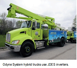Odyne Systems, LLC Taps John Deere Electronic Solutions Inverters to Drive Electric Motors for Quiet, Efficient Work Sites