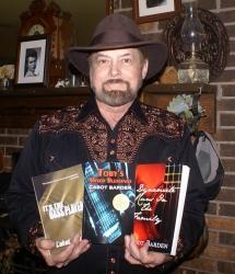 "Barden Has Written Award Winning ""Toby Trilogy"" Series of Books"