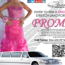 Win a Free Stretch Limo for Prom