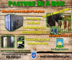 The Feed You Need at a Price You'll Love in Sun Roads Farmory's Pasture in a Box Systems