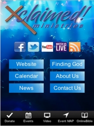 Xclaimed Ministries' Smart Phone App