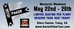 Senior Poker Tour� Announces Memorial Weekend Mini Series