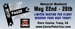 Senior Poker Tour™ Announces Memorial Weekend Mini Series