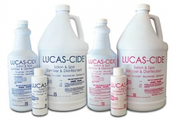 Lucas-Cide the Highest Available Germ-Killing Disinfectant