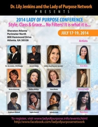 Cynthia Good, CEO and Founder of Little PINK Book, Amongst a Host of Women Business Leaders Offering Inspiration and Empowerment at This Year's Lady of Purpose Conference