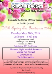 Women's Council of Realtors Hosting Their Annual Spring Tea