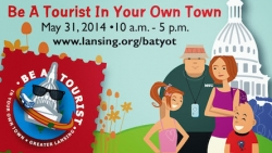 Celebrate 20 Years of be a Tourist in Your Own Town Saturday, May 31st