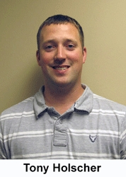 DUECO Inc. Promotes Tony Holscher to Service Center Supervisor for the Western States