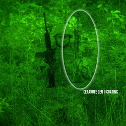 Cerakote Gen II Coatings: Reduced Weapons Visual-IR Signature Detection