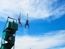 Mobile Ziplines by Extreme Engineering Coming to Bishop�s Pumpkin Farm