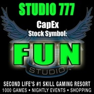 Ring the Virtual IPO Bell! STUDIO 777� is Going Public on Second Life's� Capital Exchange June 7, 2014
