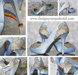 Ginger Zee is Setting the Latest Wedding Trend with Custom Wedding Shoes by Design Your Pedestal