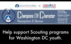 Champions of Character Dinner June 18, 2014, Washington, DC