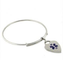N-Style ID Announces New Medical Bangle Charm Bracelet