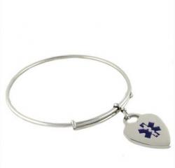 N-Style ID Announces New Medical Bangle Charm Bracelet