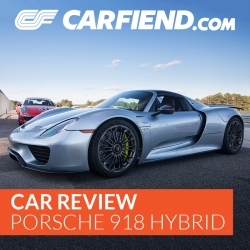 Car Fiend Test Drives the Porsche 918 Spyder