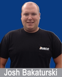 DUECO Inc. Hires Josh Bakaturski as Road Service Mechanic for Illinois