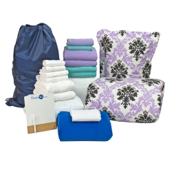 TwinXL.com's New 20-Piece Dorm Bundle Provides Big Options & Big Savings for College Students
