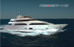 2014 President Superyacht Ready to Launch; $100,000 NZD Cash Reward Offered in Sale